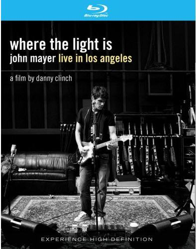 WHERE THE LIGHT IS: JOHN MAYER LIVE IN BY MAYER, JOHN (BluRay)