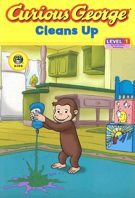 Curious George Cleans Up By Krensky, Stephen (ADP)/ Fallon, Joe
